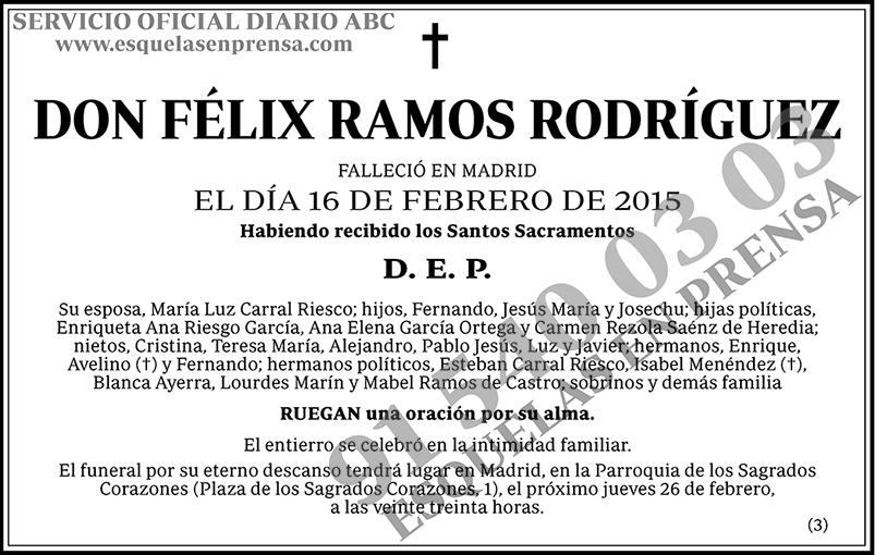 Félix Ramos Rodríguez